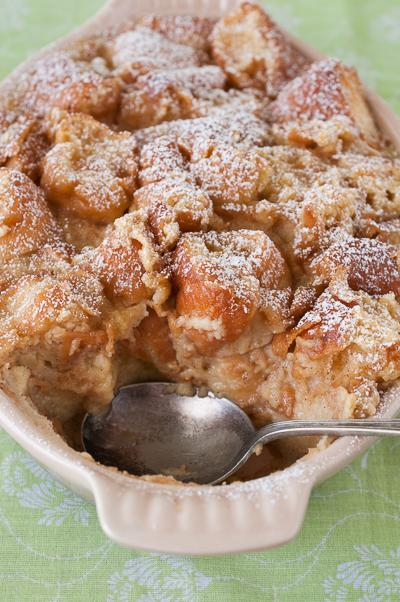 Sweet Treats: food, photography, life: Glazed Doughnut Bread Pudding
