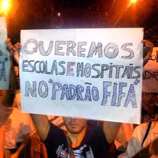 Grandes manifestações pelo país mostram descontentamento popular durante Copa das Confederações