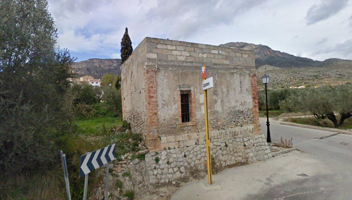 Caseta de manteniment de Gaianes