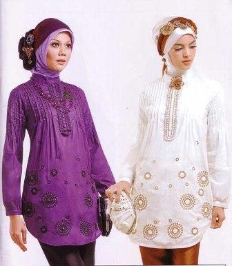 Contoh Gambar Model Busana Kerja Wanita Muslimah Modern