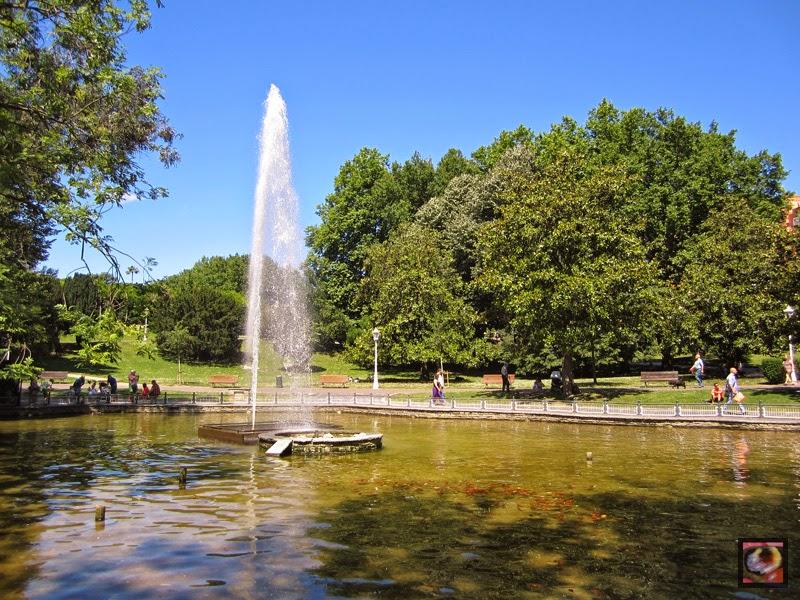 Parque de Doña Casilda Iturrizar en Bilbao (Bizkaia)