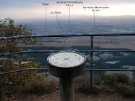 Els voltants de Tona des del mirador del Pirineu