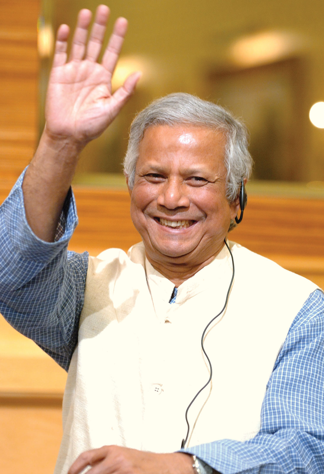 I Was Here.: Muhammad Yunus
