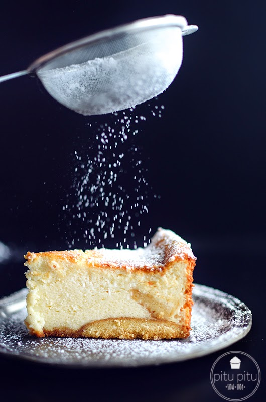 sernik, cheesecake, plate, talerz, vintage