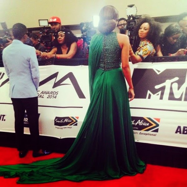 mtv africa awards red carpet