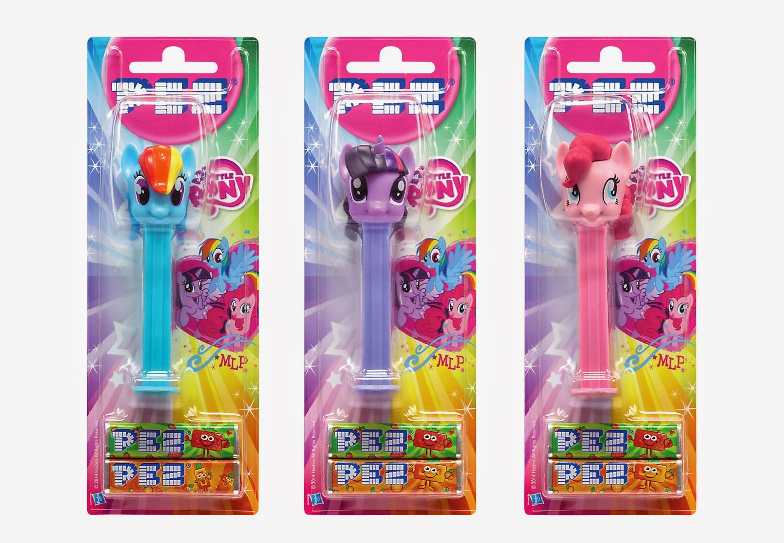 My Little Pony PEZ Containers