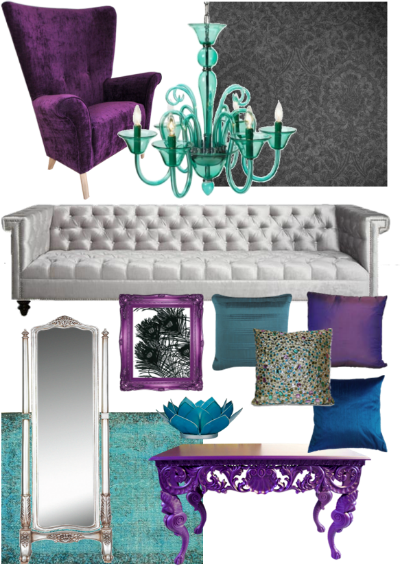 peacock_color_themed_moodboard_livingroom_quirkitdesign
