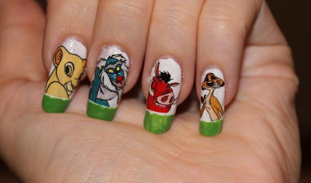 nail design tutorials 2012