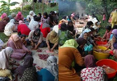 Gambar budaya gotong royong di masyarakat Indonesia