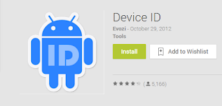 How to Know the Device ID (16 digits) on the smartphone / tablet Android