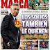 Messi y lucho en onda, el madridismo quiere a Ancelotti: las portadas