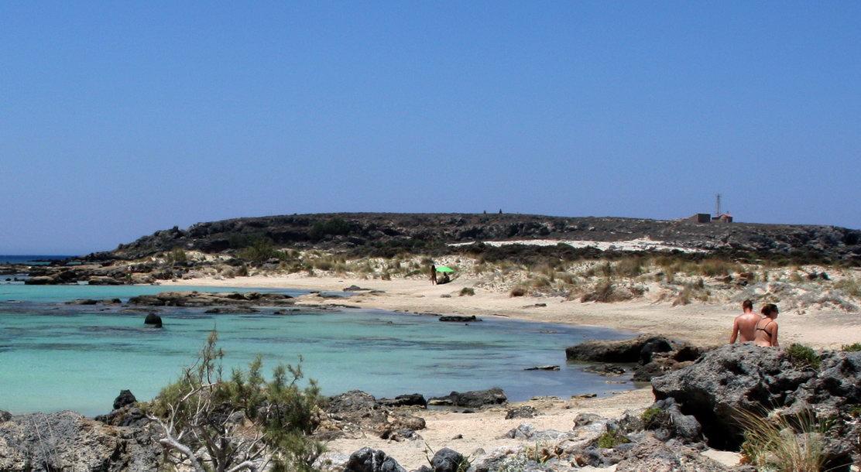 Playa nudista Elafonissi (Creta, Grecia)