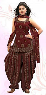 Patiala salwar kameez for women