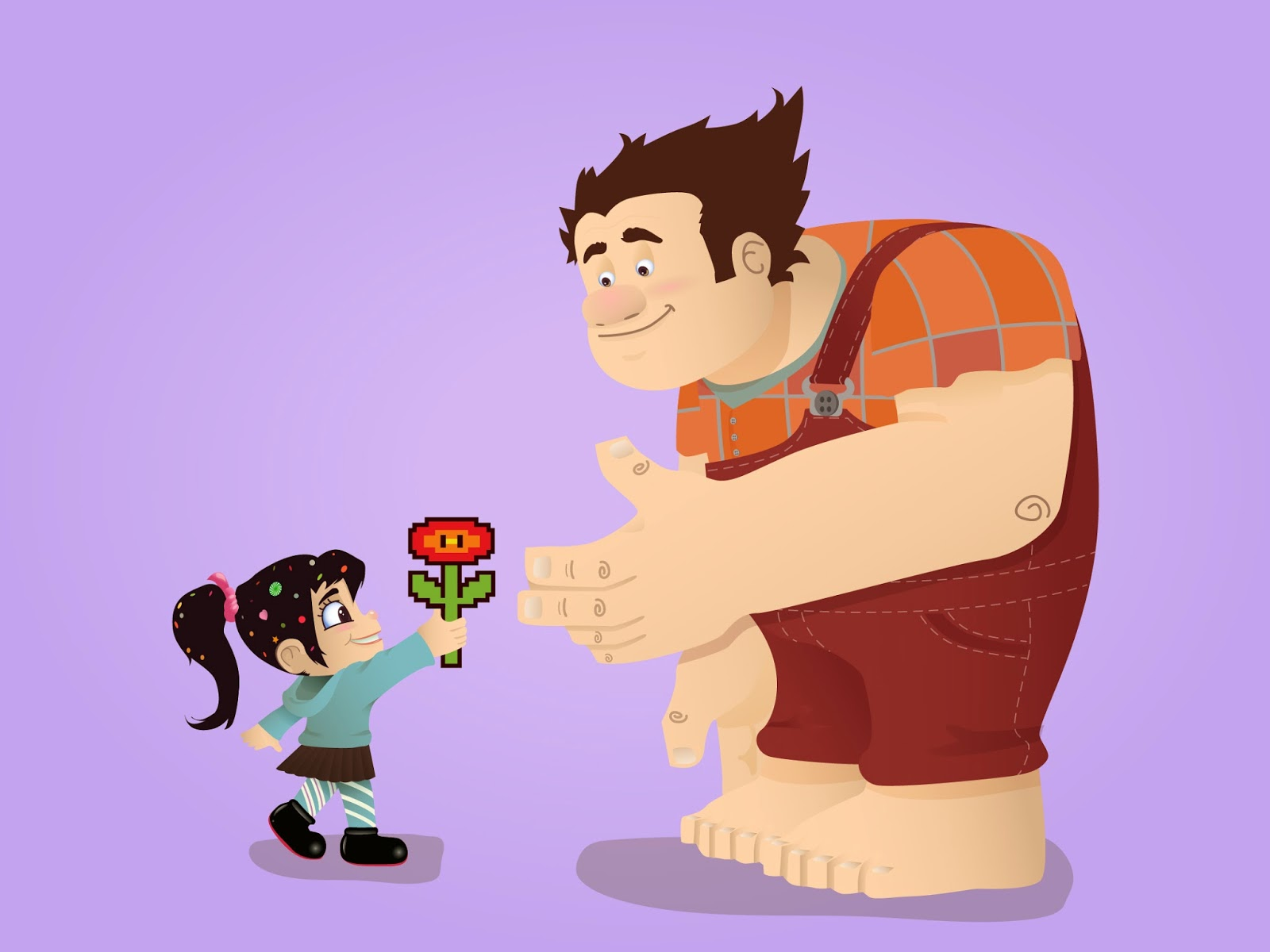 ralph in wreck it ralph wallpapers - Wreck It Ralph Wallpaper Vanellope Wallpaper HD #6958320