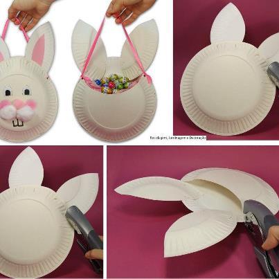 Как сделать поделки из пластмассовых тарелок