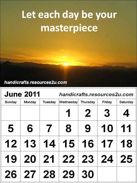Free 2014 Calendars Printable Printable June 2011 Calendar with