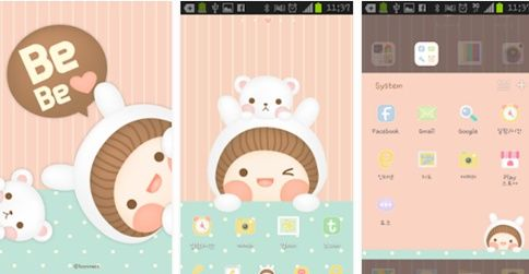 Tema Cantik Android