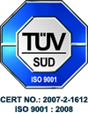 ISO 9001 : 2008 Certified