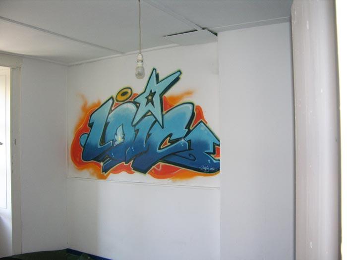 graffiti pour chambre garcon avec des id es int ressantes pour la conception de. Black Bedroom Furniture Sets. Home Design Ideas