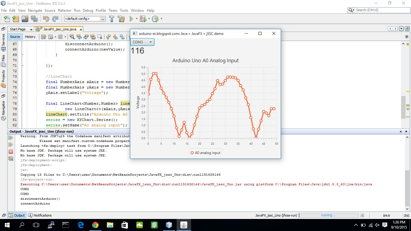 Arduino er javafx jssc read byte from uno