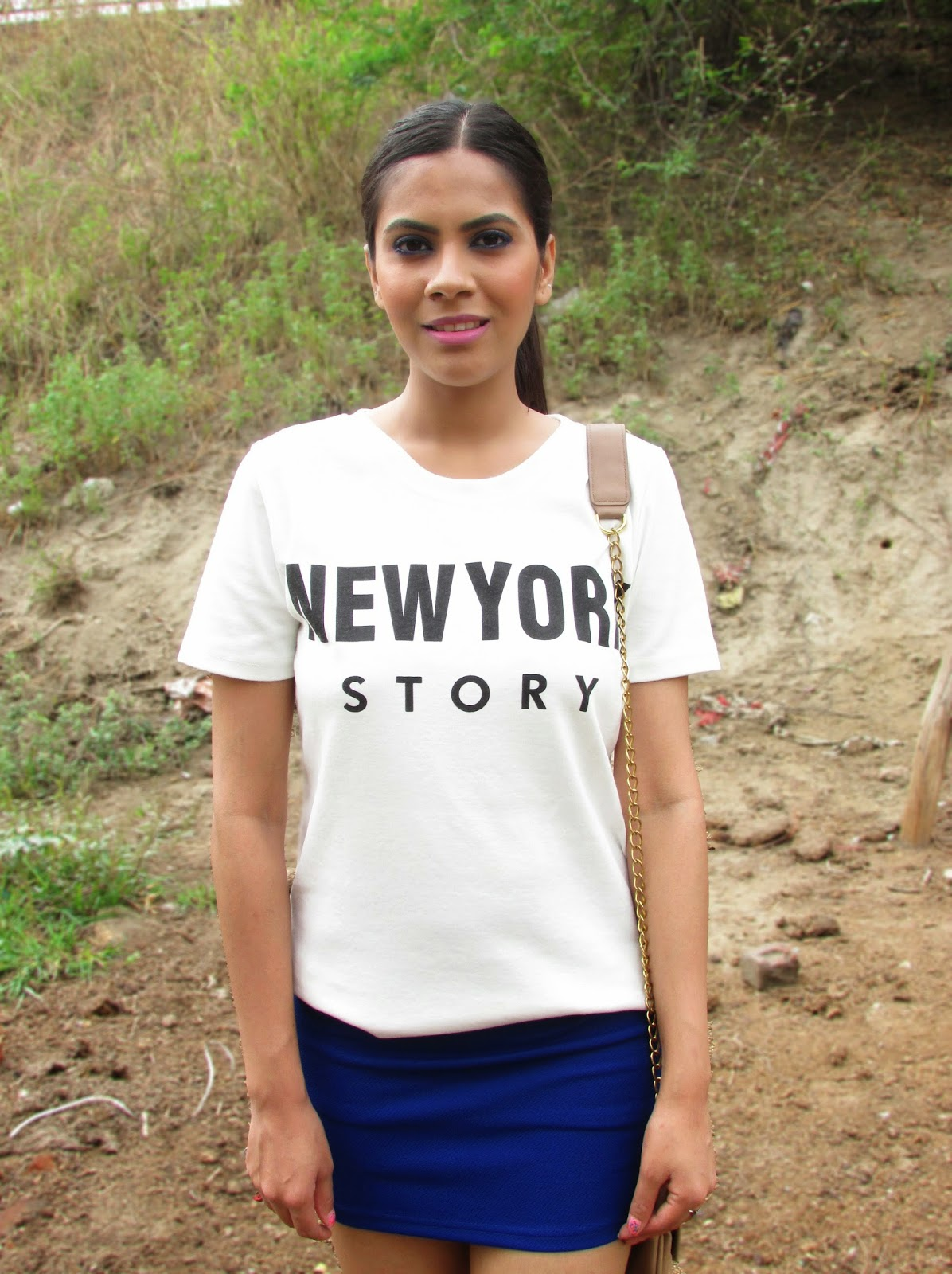 NY , New york tee, new York top , New york print top , New york print tshirt , NY slogan tee shirt , slagan tshirt, NY tee, new york stork tee, new york tee romwe,Sunglasses are a must have in summers and I got vintage round sunglasses. Round sunglasses look perfect on any face shape