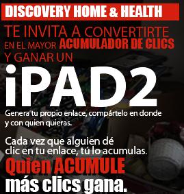 premio ipad 2 promocion discovery mujer Latin America Home & Health