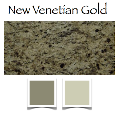 Granite and color for your kitchen a color specialist in - Popular gold paint colors ...