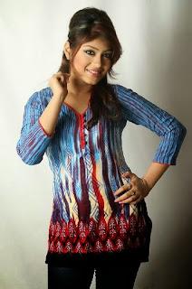 Bangladeshi  model  Misty Jannat