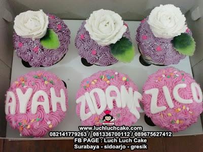 Cupcake Simpel Buttercream Daerah Surabaya - Sidoarjo