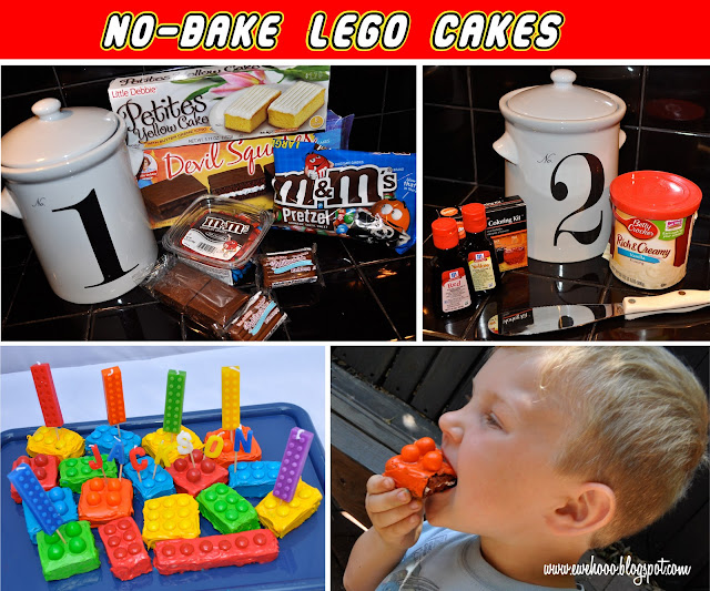 Lego Cake Activities Birthday Party