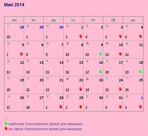 Ногти уход лунный календарь 59