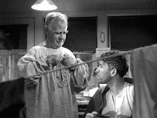 Henry Travers and Jimmy Stewart Its a Wonderful Life 1946 movieloversreviews.blogspot.com
