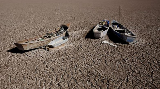 Lake Poopó was Bolivia's second largest lake.