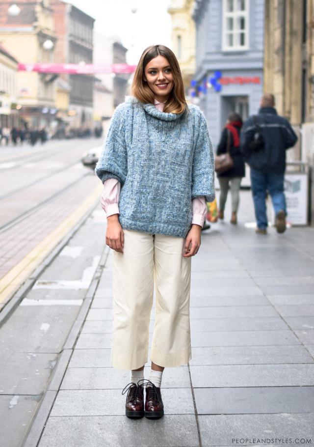 Karla Ljubičić, kiparice, ulična moda;