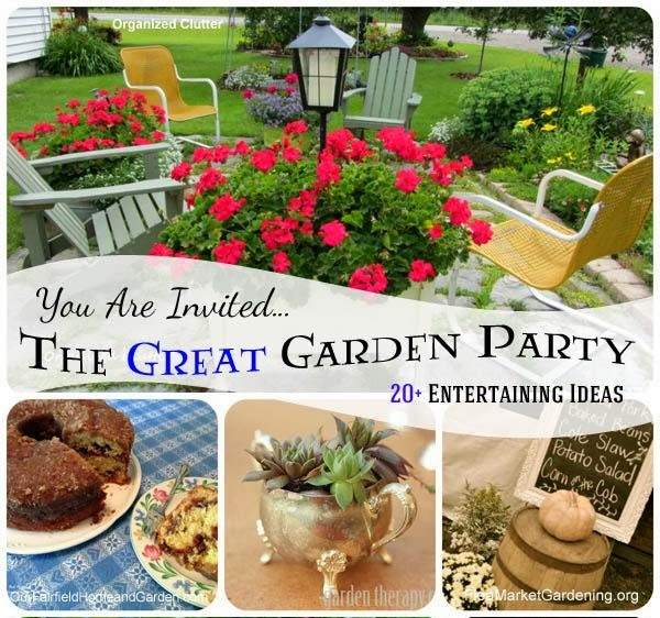 Unique Backyard Party Ideas : The Great Garden Party 20+ Entertaining Ideas ~ DIY Craft Project