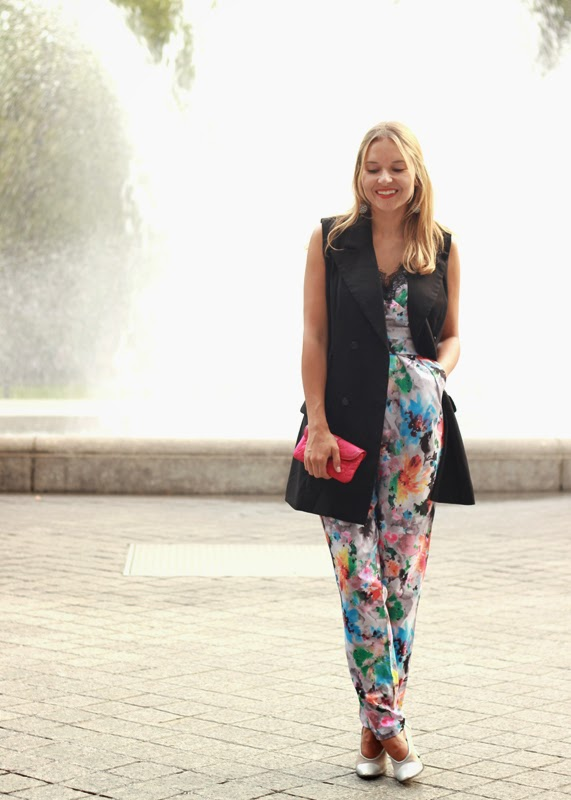 The Steele Maiden: Printed Jumpsuit