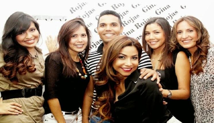 grupo con Gina Rojas