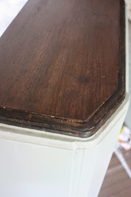 refinished wood