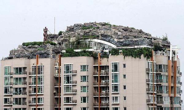 Мезонет - планина на покрива на блок