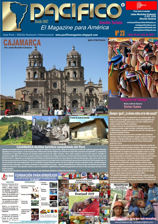 Revista Pacífico Nº 23 Turismo