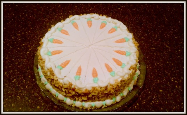 Buttercream& Buttons: Cardamom Spiced Carrot Cake with ...