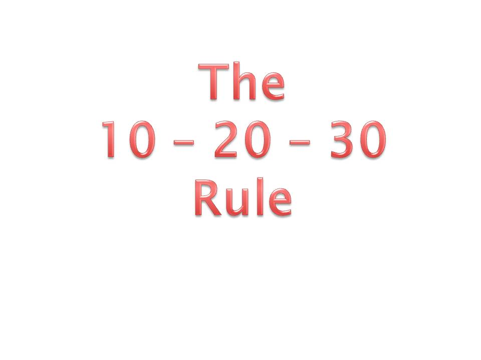 Guy Kawasaki  The 102030 Rule of PowerPoint