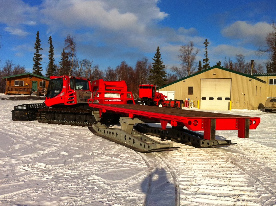 Pisten bully 100 for sale - Alaska Pistenbully S Ready To Transport People And Supplies
