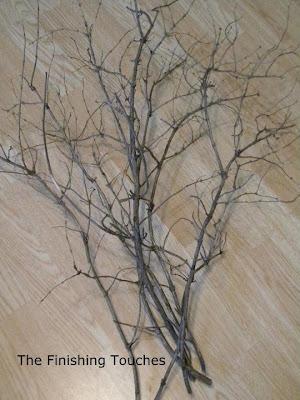 fall decor, branches
