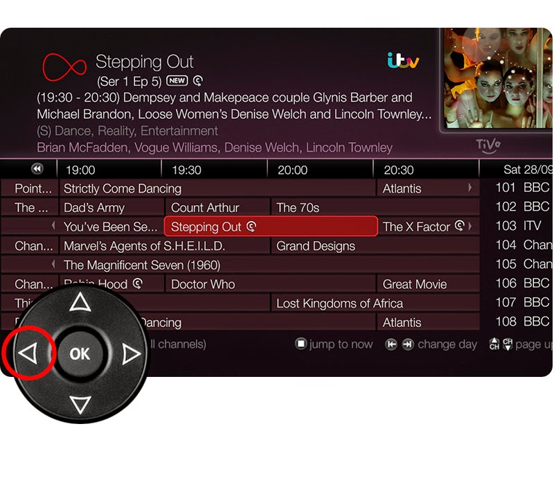 Virgin Media's Catch-Up feature
