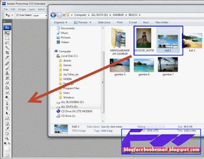 kalau kemaren mencar ilmu wacana bagaimana menyatukan foto nah kalau kini kita mencoba l Cara Edit Menghilangkan Background Foto Dengan Photoshop