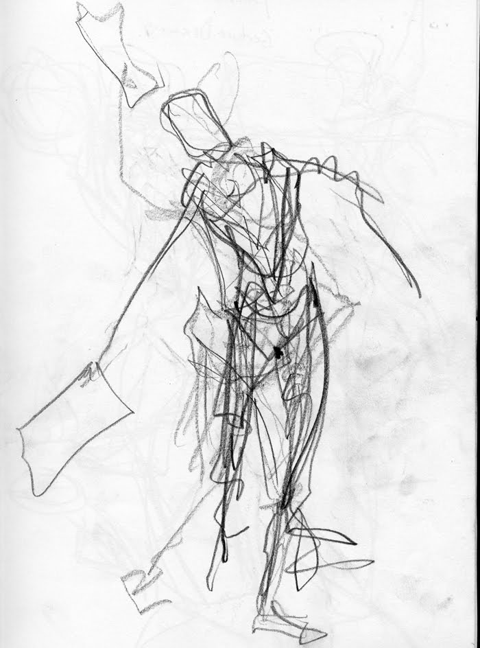 Line Drawing Vs Mass Drawing : Gesture drawing d