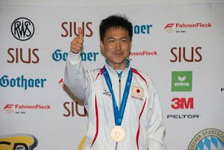 Teruyoshi Akiyama (JPN) - Pistola de Tiro Rápido - Copa do Mundo ISSF de Carabina e Pistola 2013 - Tiro Esportivo