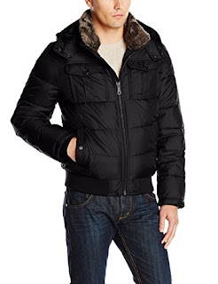 WenVen Mens Cotton Quilt Lined Vest Hooded Military Gilets