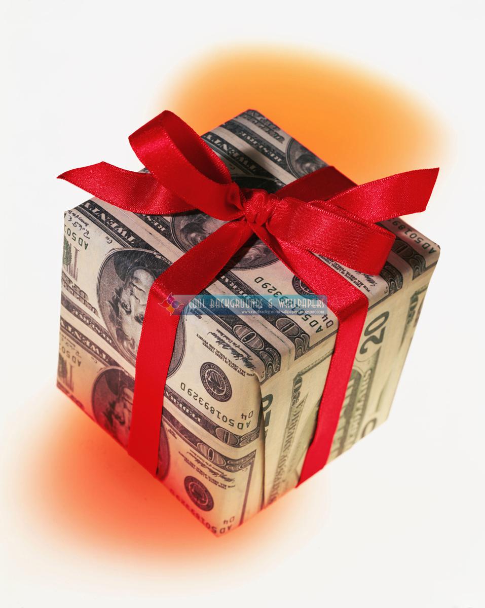 Поздравление про подарок деньги